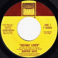 Cover Marvin Gaye - Distant Lover [Live]